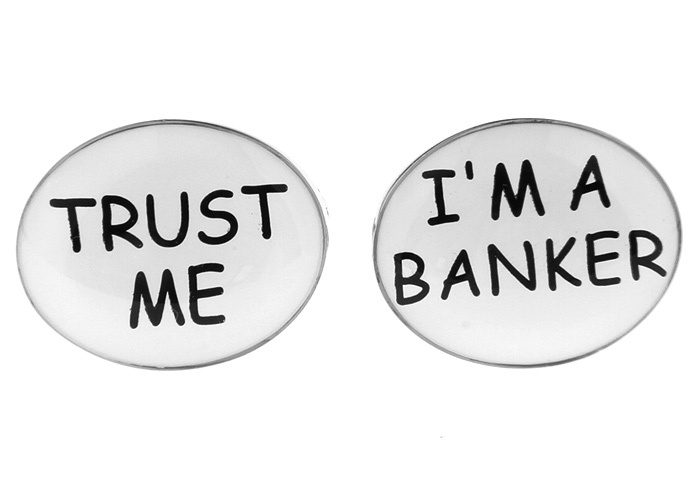 Image result for Don't Trust bankers
