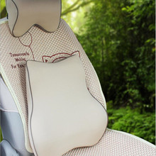 Car accessories interiors memory cotton seat support , head rest and waist pillow,heath and comfortable
