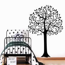 Cartoon tree Home Decor Vinyl Wall Stickers Living Room Bedroom Removable Decor Wall Decals adesivo de parede howard colyer kafka v kafka