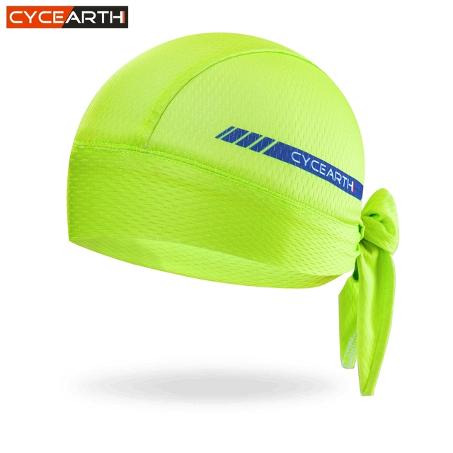CYCEARTH 2018 Men Cycling Cap Quick-dry Outdoor Sport Bicycle Headscarf Pirate Scarf Hood MTB Racing Bandana Hat