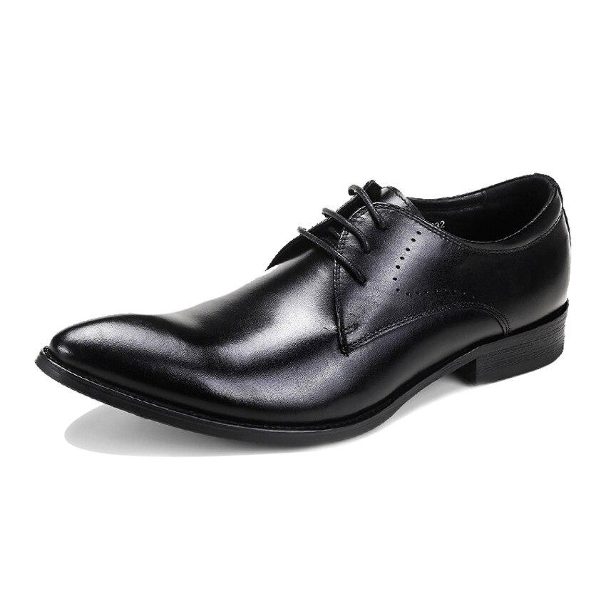 De Formal Cuero vino Nueva Auténtico Zapatos Hombres Boda Vestido Derby Punta Baile Asd78 Llegada Negro Club Tinto A Mano Hecho Hombre Calzado wRaxRIq7