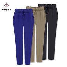 2020 Autumn European Style Casual Loose Stretch Women Palazzo Harem Trousers Female Slack Sweatpants Plus Size M 3XL 4XL 5XL 6XL