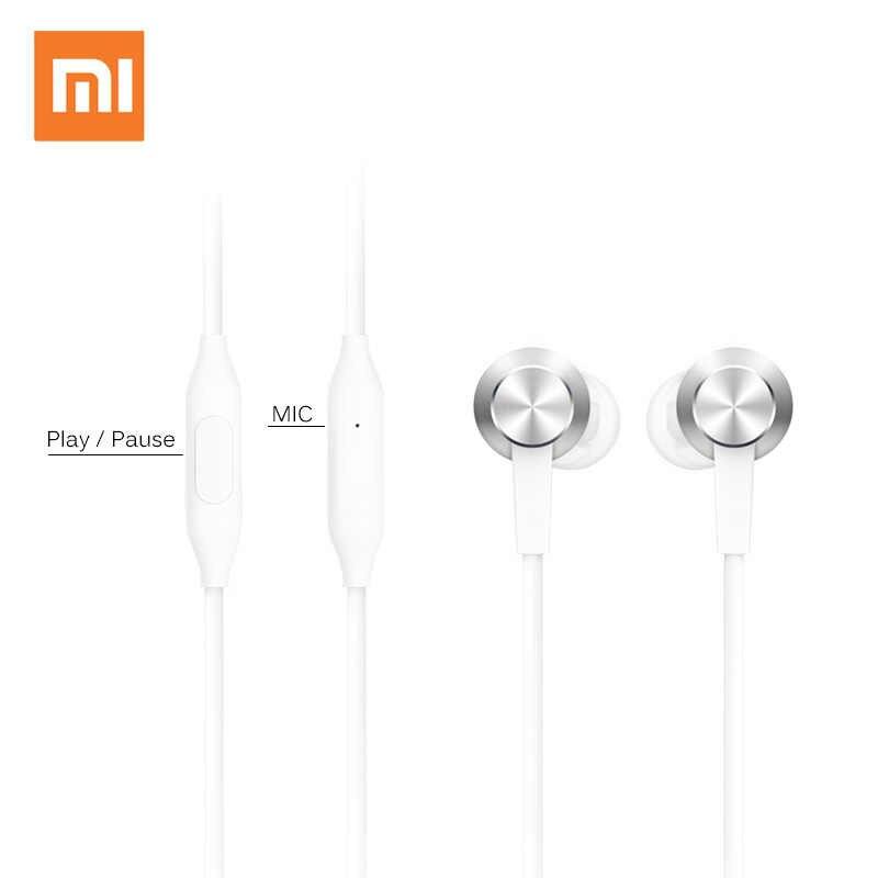 Xiao mi Piston 3 kulaklık USB tip-c mi Piston taze Edition kulaklık mikrofonlu kulaklık Xiao mi mi 6/8 huawei kulaklık kulakiçi