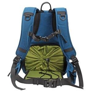 Image 3 - Водонепроницаемый рюкзак для камеры многофункциональный Многофункциональный цифровой SLR Мягкий сумка для фотокамеры с дождевой крышкой для Nikon Canon sony