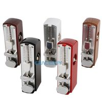 Super Mini Mechanical Pendulum Metronome Tempo Range 60 208bpm For Musicians Piano Guitar Brand New