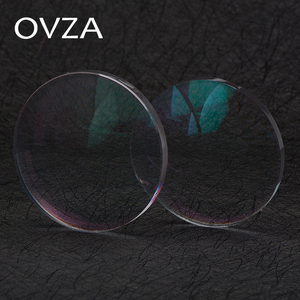 Image 1 - OVZA 1.67 Ultra   Thin Scratch   Resistant Aspheric Resin Lens Plus Film Plus Hard Prescription Lenses Radiation Myopia Glasses