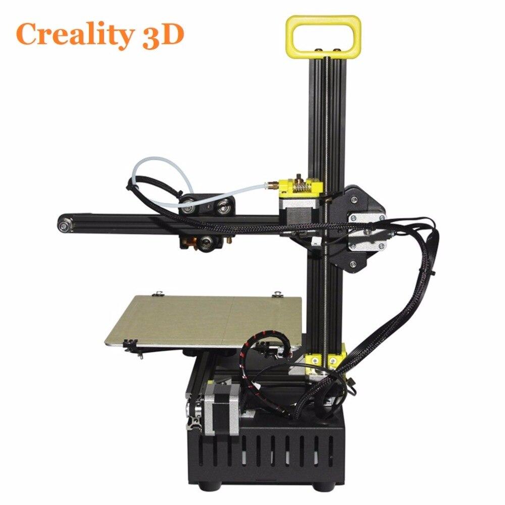 CREALITY FDM 3D Imprimantes Full Metal V-Cadre slot 2 dans 1 3 D Laser Gravure Kit D'imprimante Filament CR-8 Baisse gratuite