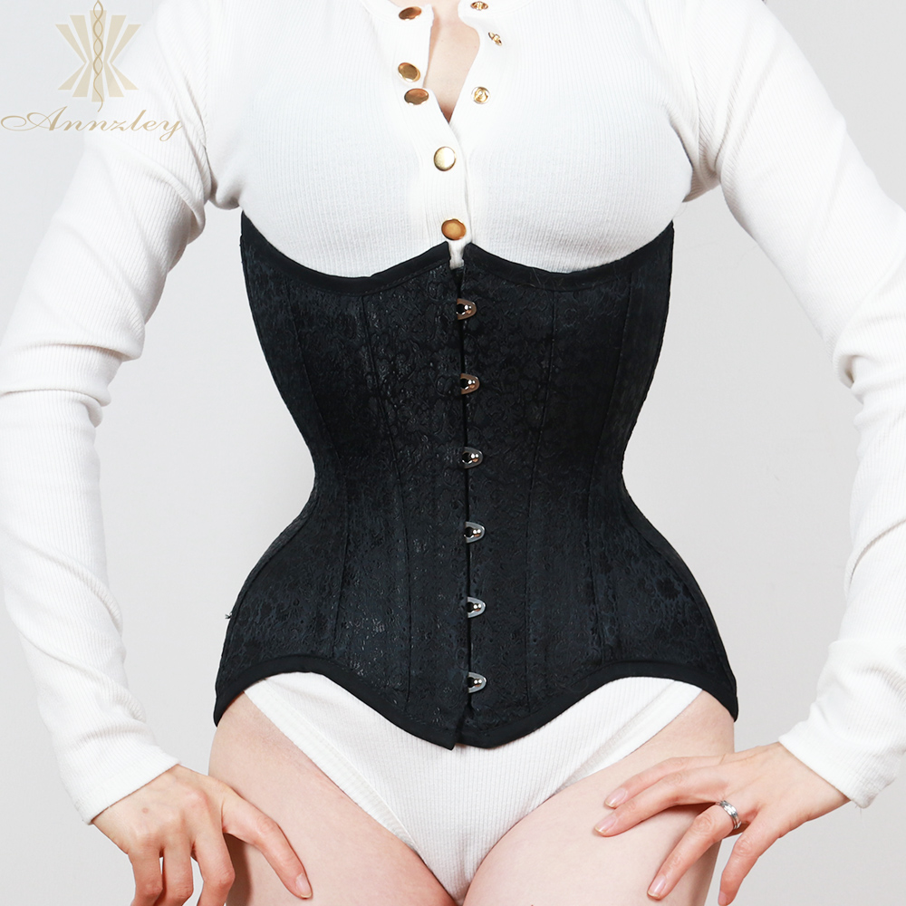 Annzley Corset Perfect Model For Waist Slimming Fast Slim Waist 4 8 Inches Double Steel Boned