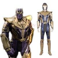 Cafiona Новые мстители 3 Бесконечная война танос Косплэй костюм прохладный человек Fighting наряды хэллоуин шлем