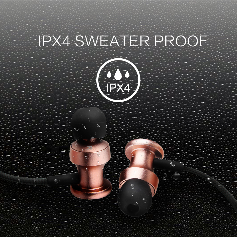 Oneodio IPX4 Waterproof Handsfree Earbuds Earphone Sport Running Stereo Bluetooth 4.1 Headset Wireless Headphone With Microphone hbs 760 bluetooth 4 0 headset headphone wireless stereo hifi handsfree neckband sweatproof sport earphone earbuds for call music