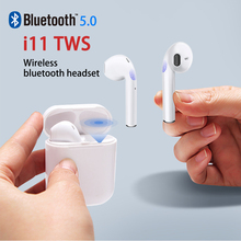 i11 TWS Wireless Earbuds 5.0 Bluetooth Earphone Headphone Air Mini Earbuds Touch