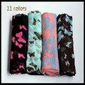Новый дизайн вискоза бабочки платки/шарф/шарфы/мусульманская хиджаб, оптовая бесплатная доставка D689
