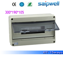 Saipwell 2014 Hot Electrical Distribution Box IP66 15 ways Power Distribution Box HT-15 High Quality