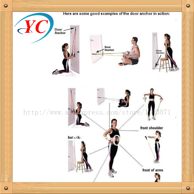 Fitness Resistance Bands Exercise Tubes Practical Elastic Training Rope Yoga Pull Rope Pilates Workout Cordages YC HF0057-in Resistance Bands from Sports ...  sc 1 st  AliExpress.com & Fitness Resistance Bands Exercise Tubes Practical Elastic Training ...