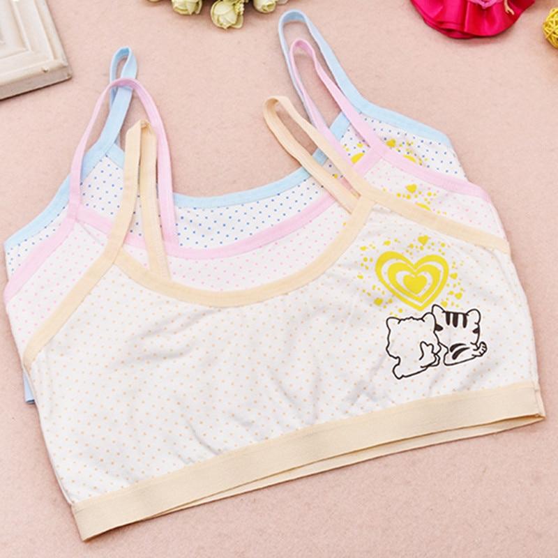 Kinder Unterwäsche Modell 100% Baumwolle Mädchen Tank-top Candy Farbe Unterhemd Mädchen Singulett Baby Leibchen Bh Tops Sport Undies