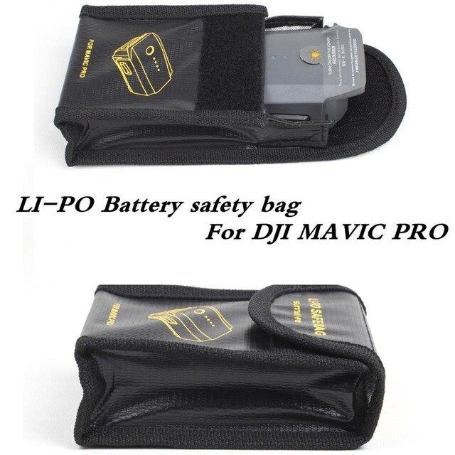 3 шт./лот Аккумулятор взрывозащищенные мешок литиевая батарея заряд и огнезащитных безопасности сумка Для MAVIC PRO