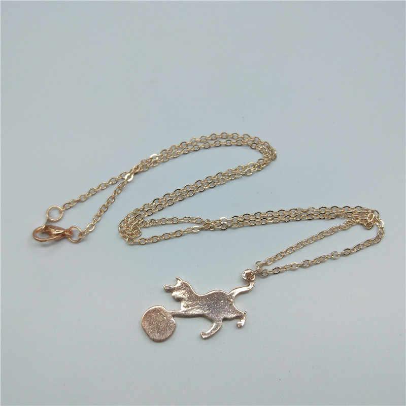collier pour femme chat