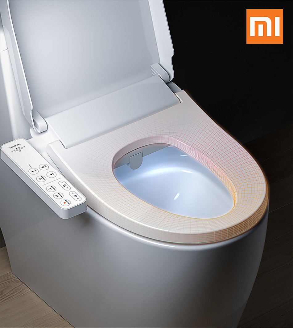 Home Appliance Parts Helpful Xiaomi Mi Small Whale Washing Intelligent Temperature App Smart Toilet Cover Seat With Led Night Light Ipx4 Waterproof Comfortable Feel