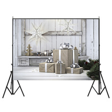 7X5ft рождественские праздничные украшения фон фотографии Подарочная коробка Свадьба юбилей фотостудия бытовой Крытый теплый сладкий