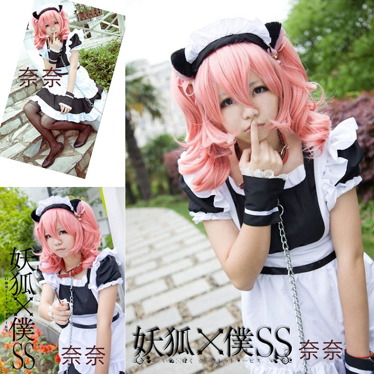 Free Shipping Cheap Black and white Lolita Maid Anime cosplay Clothes  Costumes princess Halloween dress