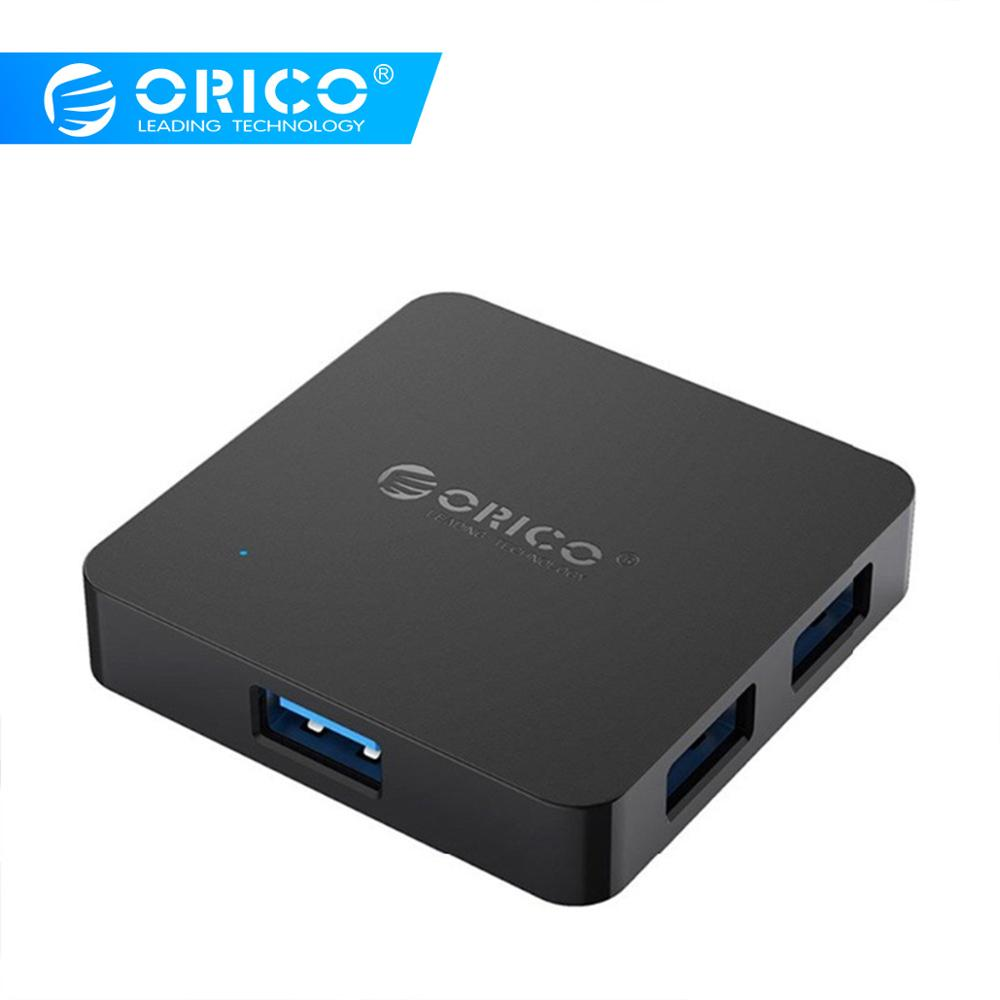 5Gbps Speed 4-Port USB 2.0 Portable Compact Hub Adapter For PC Laptop CHH