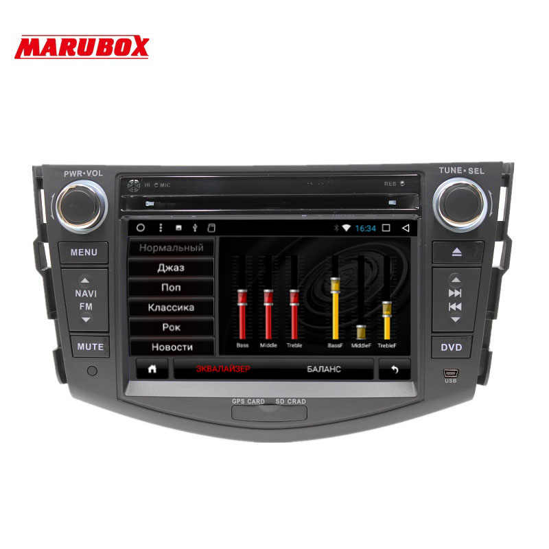 MARUBOX 7A106DT3 Android 7,1 Автомобильный мультимедийный плеер стерео для TOYOTA RAV4 DVD/Bluetooth/Радио/аудио Mirrorlink емкостный