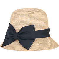 Bowknot Straw Hat Lady Fashion Sunshade Foldable Hat Girls Summer Sunscreen Cap Student Beach Sun Cap