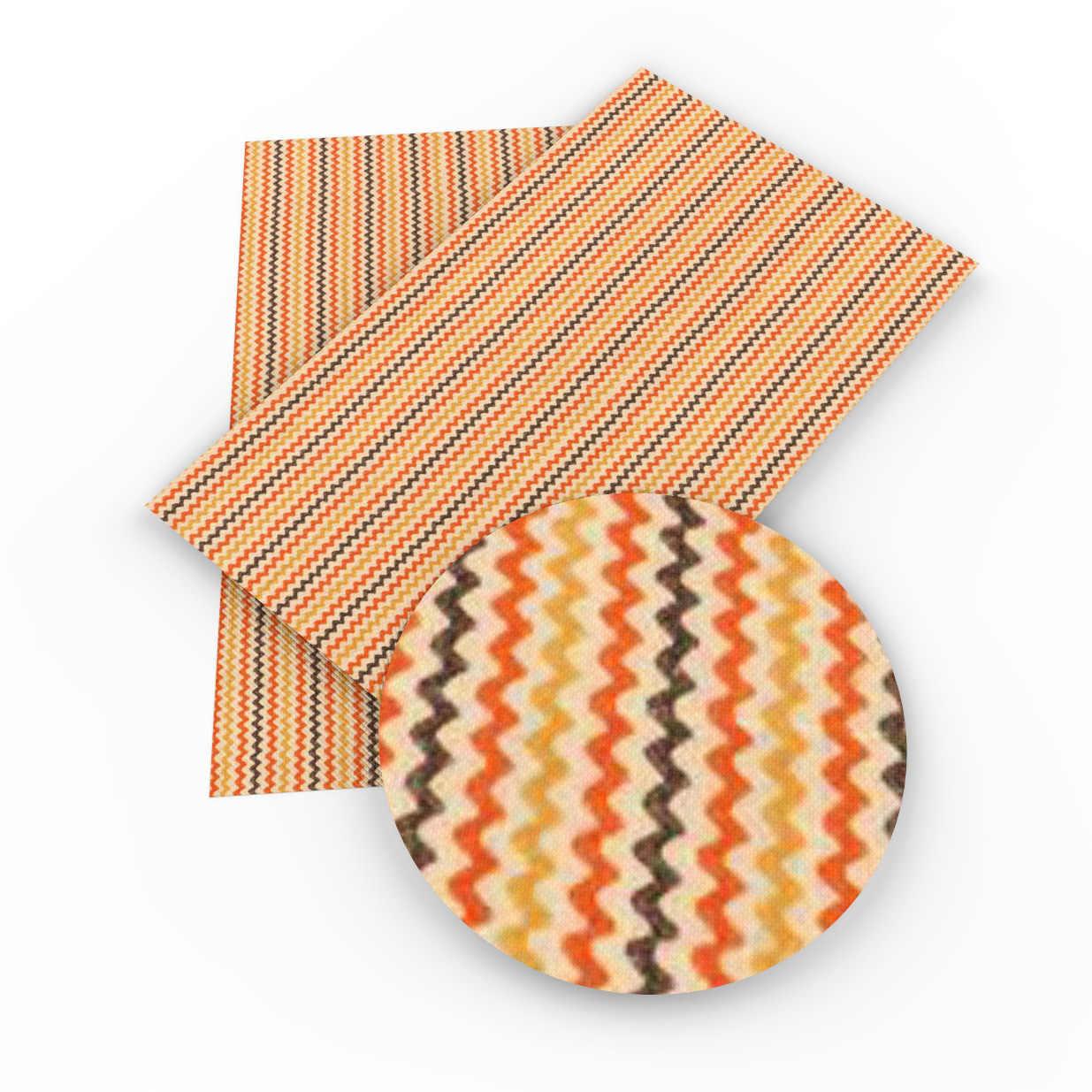 David acessórios 20x34cm listra falso couro sintético diy casa têxtil decorativo costura vestuário knotbow saco artesanato, 1yc5066