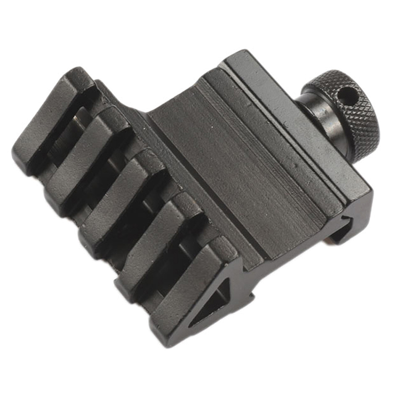 Aluminum Hunting Tactical Rifle Gun Scope Sights 45 Degree Picatinny Rail Offset Side Mounts 20mm For Laser Torch Flashlight