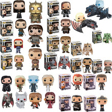 FUNKO POP Game of Thrones Night King Jon Snow Jaime Arya Hound Action Figure Collectible Model Christmas Toys for Children Gift(China)