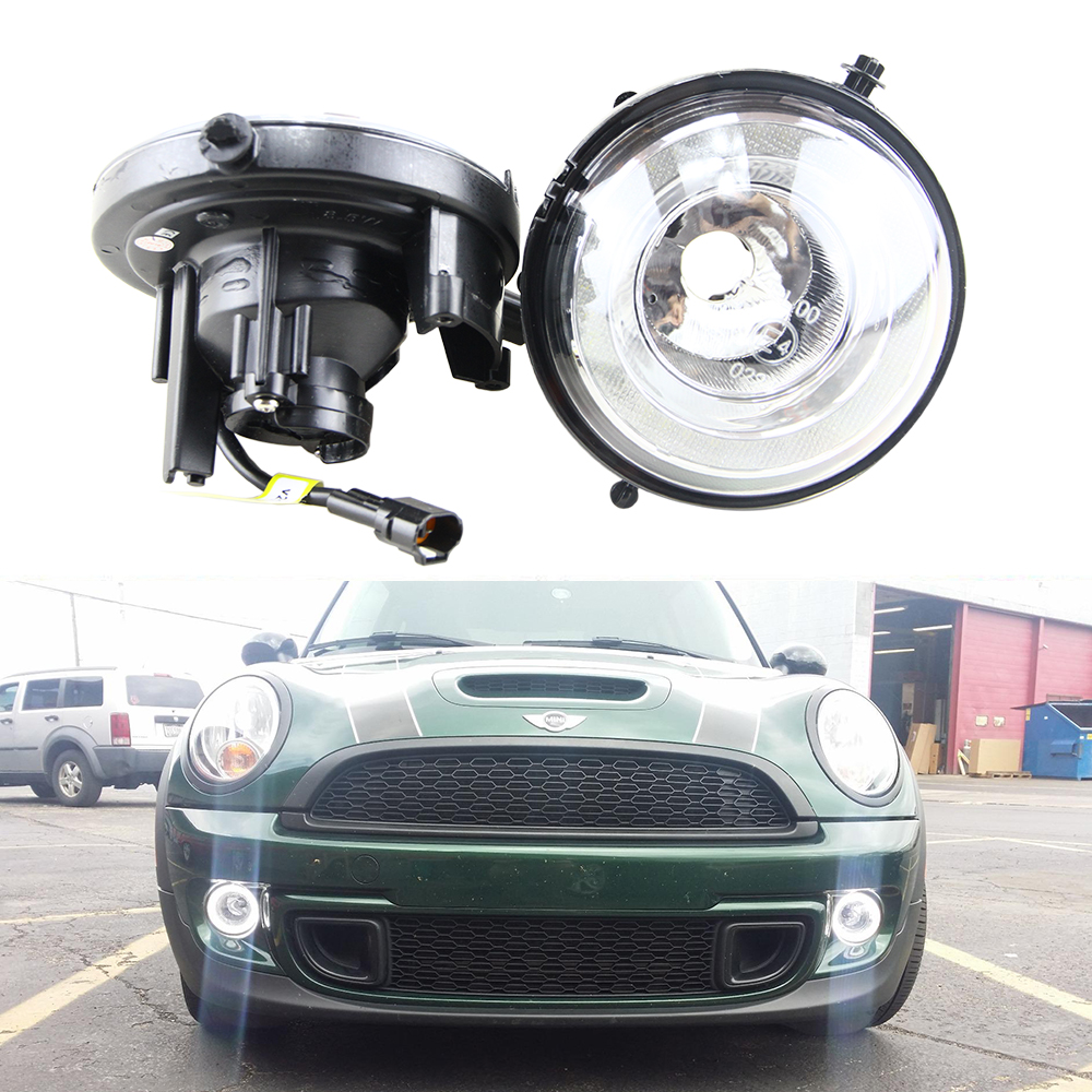 цена на 8.5W Xenon White Led Daytime Running light for Mini Cooper R55 R56 R57 R58 R59 R60 R61 R55N R56N R57N F56 Halo ring angel light
