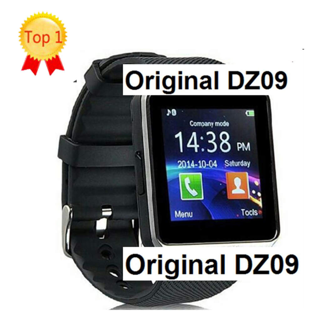 2016 Original android Smart font b Watch b font DZ09 Sim font b Watch b font