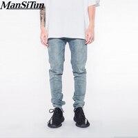 2017 Neweat Ankle Zipper Jumpsuit Jeans Mens Designer Clothes Urban Clothing Club Fashion Singer Justin Bieber