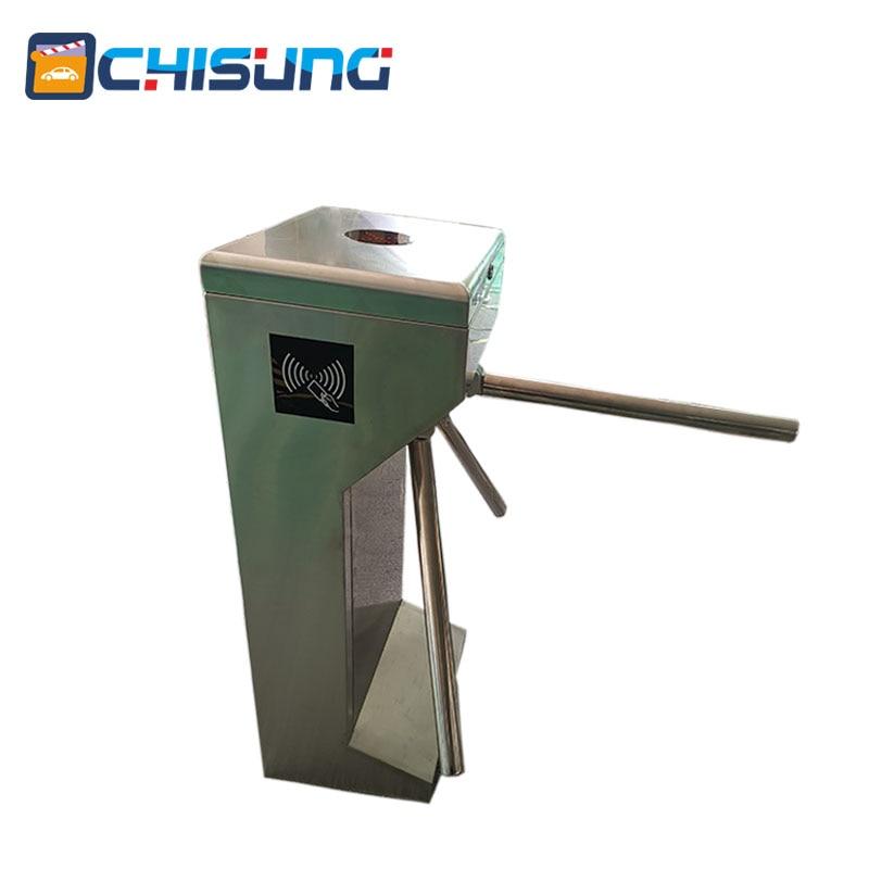 Puerta de torniquete de trípode semiautomática vertical de precio - Seguridad y protección