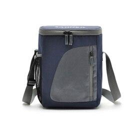 8.8L изолированный охладитель водонепроницаемый Ланч-бокс для хранения сумка для пикника портативный изолированный ланч-мешок охладитель с...