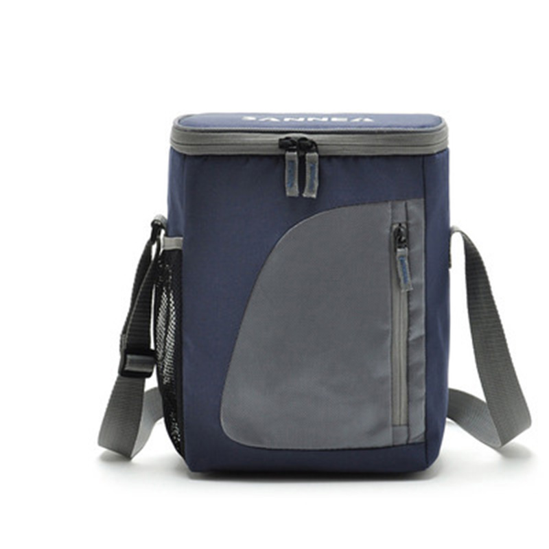 8.8L Thermal Cooler Insulated Waterproof Lunch Box Storage Picnic Bag Pouch Portable Insulated Lunchbag Cooler Bags цена