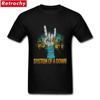 2017 System Of A Down Tee Men S Round Collar Mens Short Sleeved T Shirts Fashion