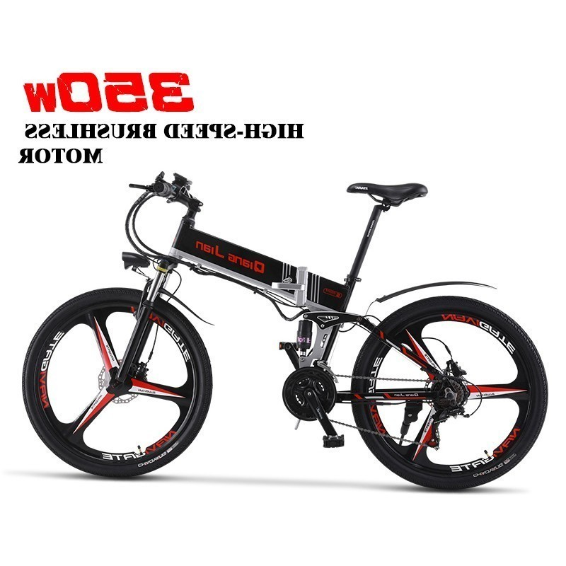 Motor Portable Electric Bicycle With 26 2019 New Built in Lithium Battery Electric Bicycle Folding Electric