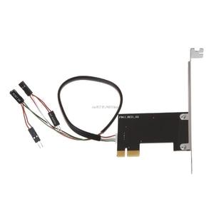 Image 5 - PCI E שולחן העבודה מחשב מרחוק בקר 20m אלחוטי מתג הפעלה מחדש להפעיל Off