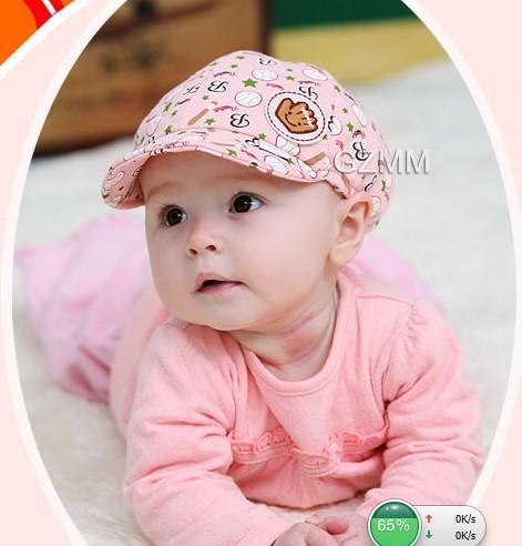 cute baby boys girls baseball cap summer hat beret headwear 100