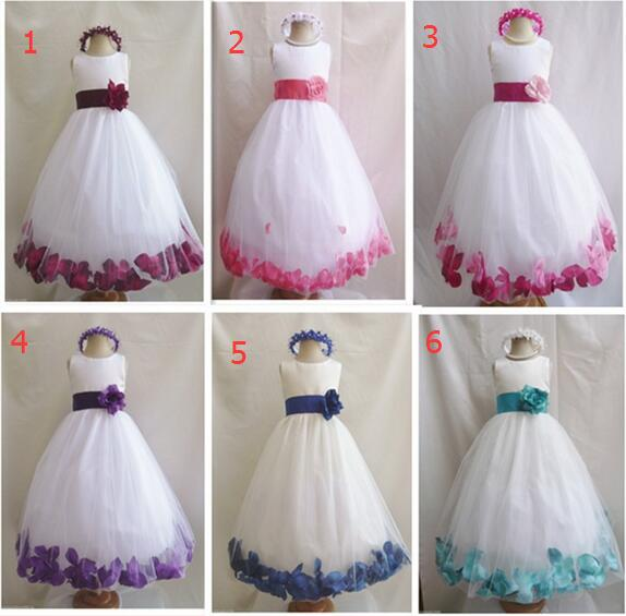 Jersey Flower Girl Dress
