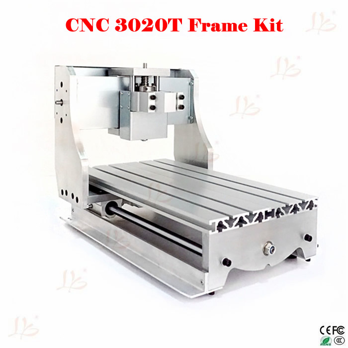 CNC part CNC router frame 3020T with trapezoidal screw for DIY CNC engraver machine eur free tax cnc 6040z frame of engraving and milling machine for diy cnc router