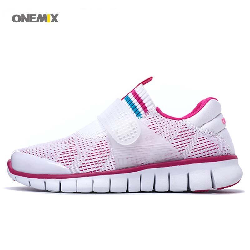 ONEMIX 2017 FREE 2.0 Lady sock dart sport relax bullet hyperline elite exercise mesh Run sneaker Women's Running shoes 1138 sport elite se 2450