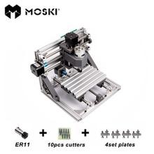 MOSKI, CNC1610 mit ER11, mini cnc laser graviermaschine, Pcb Fräsmaschine, Holzschnitzerei maschine, cnc router, cnc 1610, spielzeug geschenk