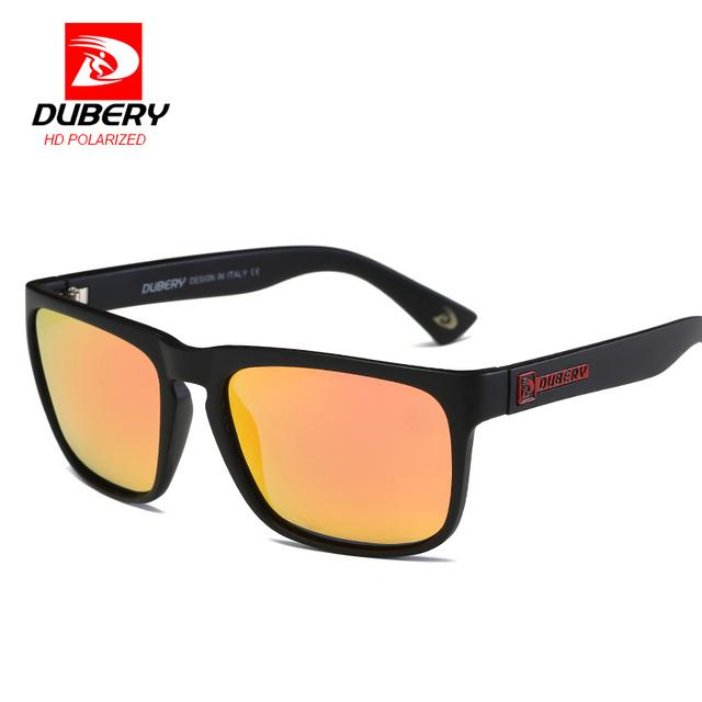 DUBERY Polarized Sunglasses Men's Driving Shades Sun Glasses For Men High Quality Retro Cheap 2017 Luxury Brand Designer