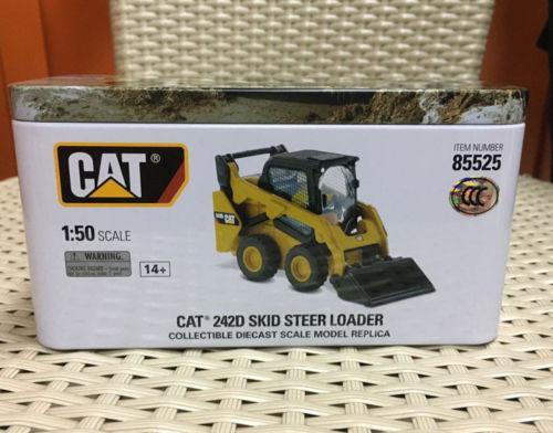 Caterpillar1:50CAT 242D Skid Steer Loader# CAT85525