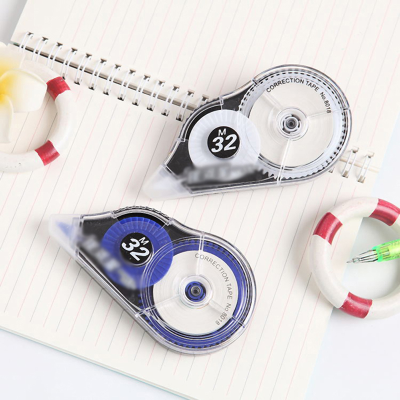 32M*5MM Roller Correction Tape White Out Study Office School Student Stationery