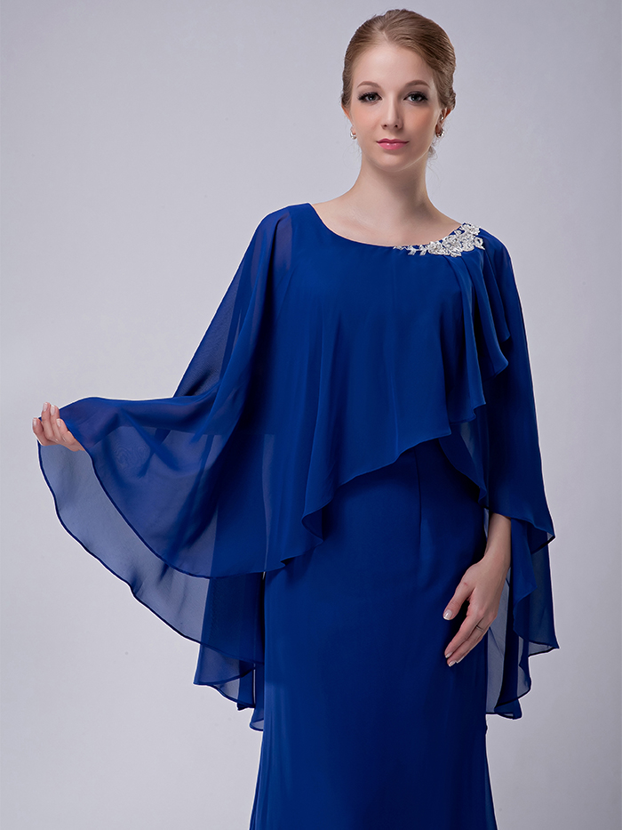chiffon mothers dress