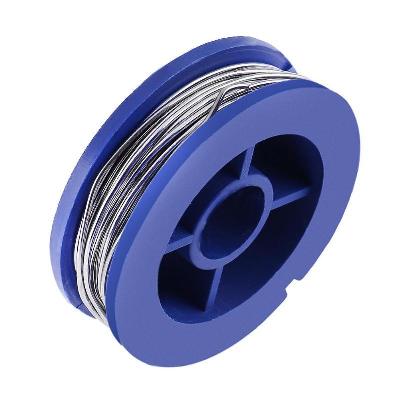 1pc 0.8mm Solder Wire Tin Lead Tin Wire Melt Rosin Core No-Clean Flux Tin Lead Soldering Wire Roll Mini Pure
