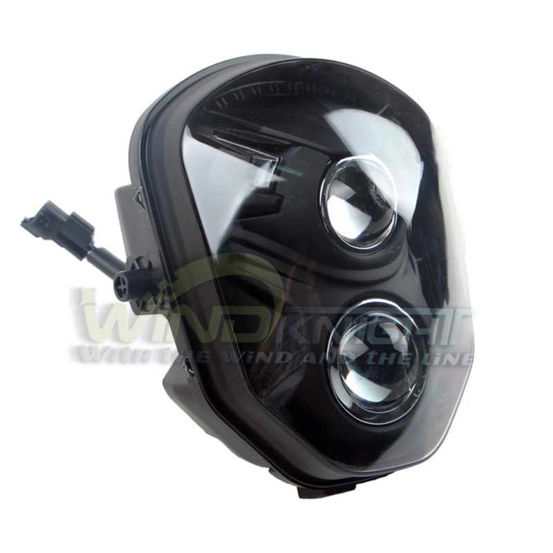 Honda Grom Price >> Motorcycle Dual Projector Lens Front Headlight Headlamp ...